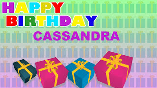 Cassandra - Card Tarjeta_757 - Happy Birthday