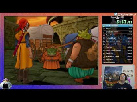 New Dragon Quest 8 speedrun WR - 11:46:41