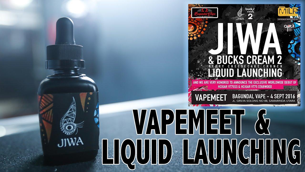 "VAPEMEET & LAUNCHING LIQUID ""JIWA"" & BUCKS CREAM 2 BY MOVI ..."