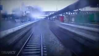 Trajet du RER B en cabine de Gare du Nord a Parc des Expositions [Time-Lapse]