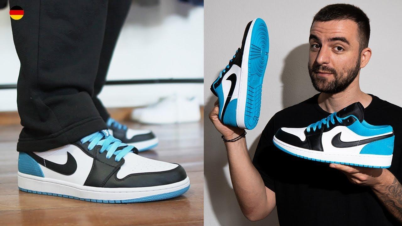 Nike Air Jordan 1 Low Se Laser Blue Youtube