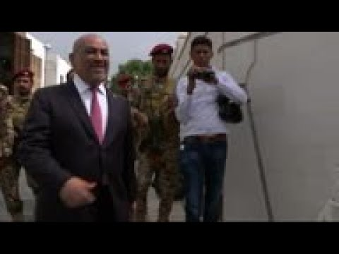 UK Foreign Secretary And Yemen Counterpart In Aden