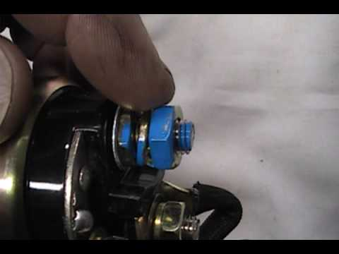 how to install a ford mini high torque starter youtube rh youtube com Ford Starter Solenoid Wiring Diagram 99 F150 Starter Wiring Diagram