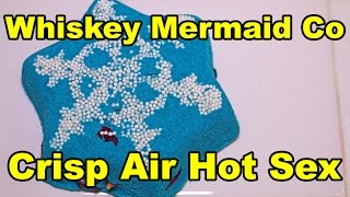 Whiskey Mermaid Co.- Crisp Air Hot Sex Bath Bomb - DEMO - Review - Underwater View