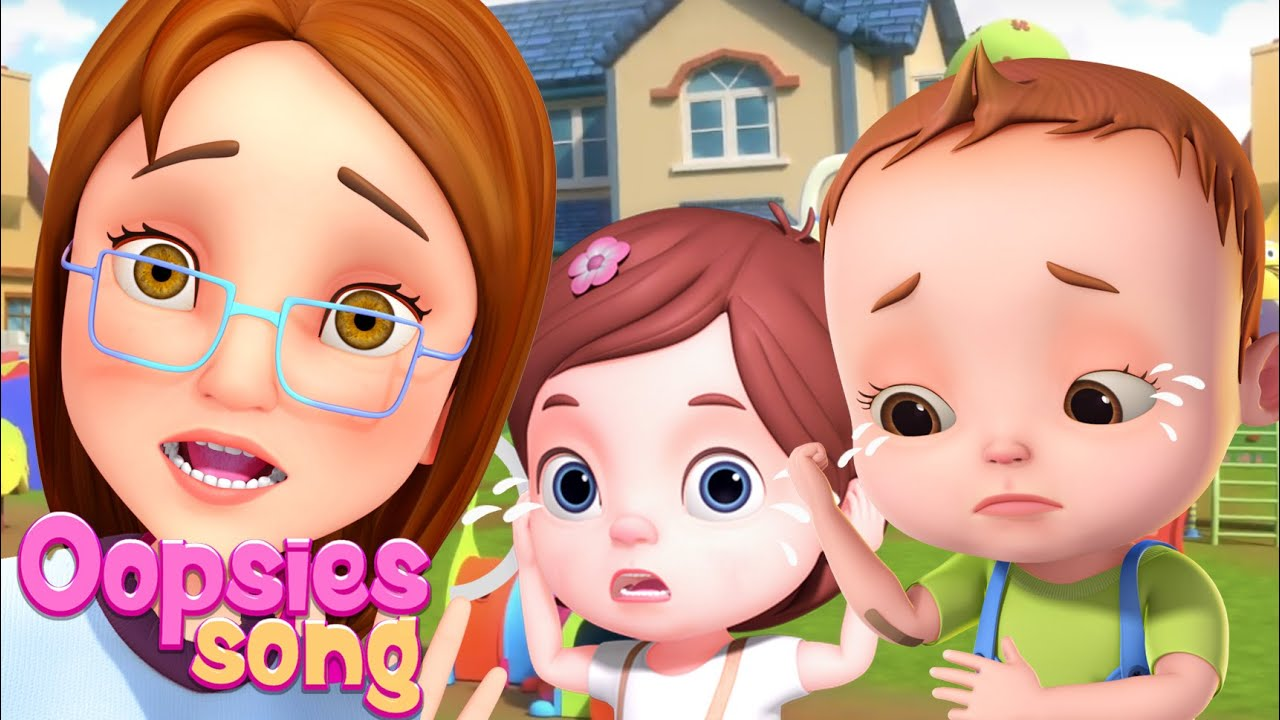 Boo Boo Song - Accidents Happen And More Nursery Rhymes & Kids Songs | Baby Ronnie Rhymes