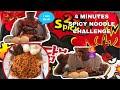 4 Minutes 2x Spicy Noodle Challenge | MUKBANG -SAMYANG | Challenge Accepted - LonChris Vlogs