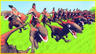 TABS - RAPTORS vs EVERY FACTION! Can They Be Defeated? - Update (Totally Accurate Battle Simulator)