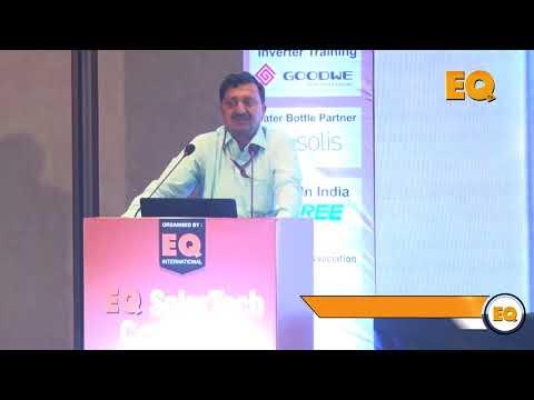 Shri Gopal Krishna Gupta, Jt. Secretary, MNRE at EQ SolarTech Conference