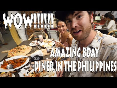MOST AMAZING BDAY DINNER IN THE PHILIPPINES!!! - BORACAY MANDARIN ISLAND HOTEL