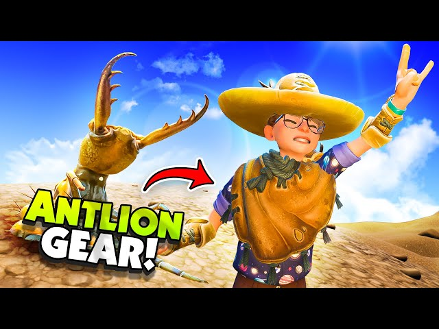 Destroying ANTLIONS To Make New ANTLION GEAR! - New Grounded Update