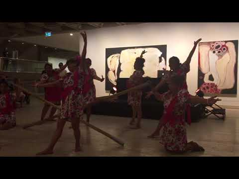 VSD does TINIKLING at The Art Gallery of NSW, Oct 4,2017