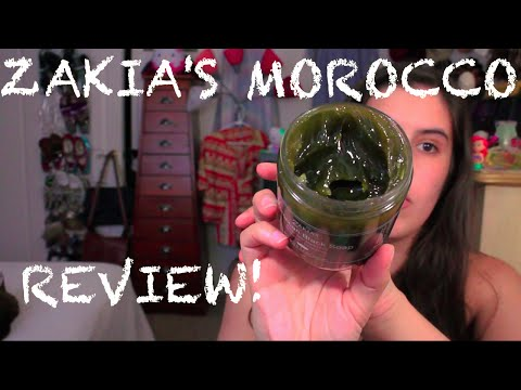 Zakia's Morocco: Black Soap with Argan Oil, Kessa Exfoliating Mitt, and Organic Argan Oil REVIEW!