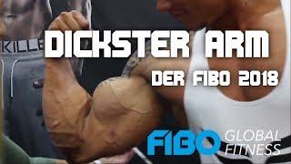 Wer hat den DICKSTEN ARM der FIBO 2018 (Smartgains, Schm. Schulter, Body IP, Bollyboy, Nam Vo, etc.)
