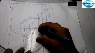 vuclip [hindi] Engineering Curve : Ellipse by directrix focus method