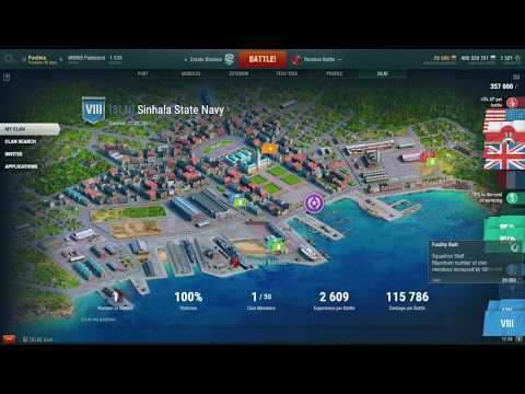 World o f Warships - Naval Base (Clan)