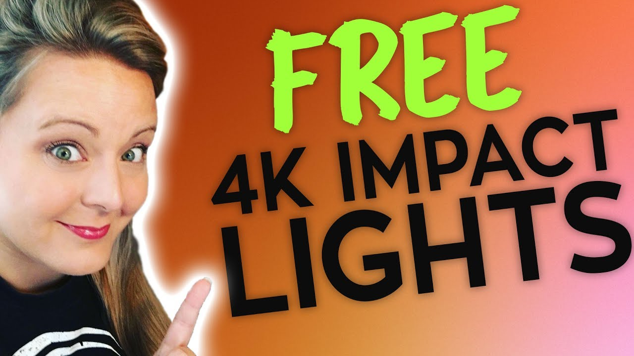 FREE 4K Impact Light Overlays & How to Use Them in FCPX