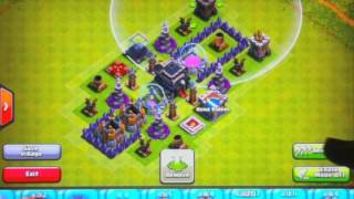 clash of clans town hall level 9 base design (without x-bow) #1