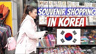 The BEST Place to Buy Souvenirs in Seoul, Korea! Insadong Shopping + Walking Tour
