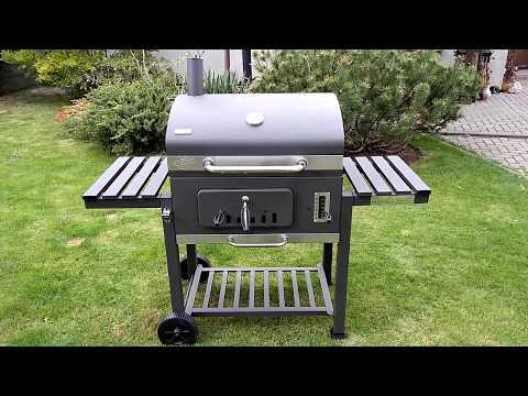 Tepro Holzkohlegrill Toronto Lidl : Kepsninė toronto xxl grillwagen Видео