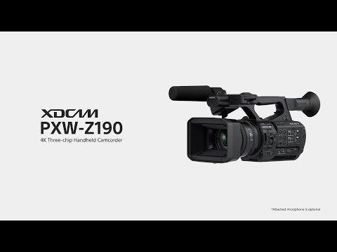 Sony  PXW-Z190   Introduction Video