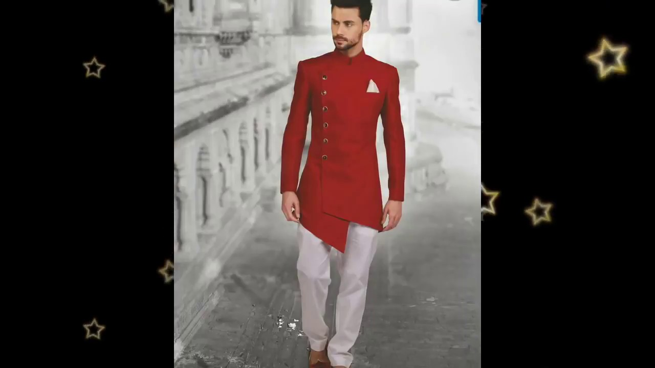 9eb54879563d Latest Indo Western Sherwani kurta Collection Eid 2018 New Updates EID Mens  Wear