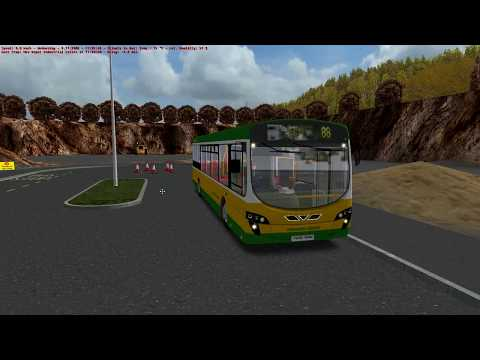 Omsi 2 Yorkshire Counties Route 88 in Volvo B7
