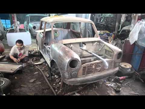 Qq Mini Morris Bengkel Specialis Mobil Mini Morris Youtube