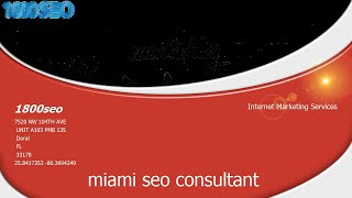 Miami Seo Companies 1800seo