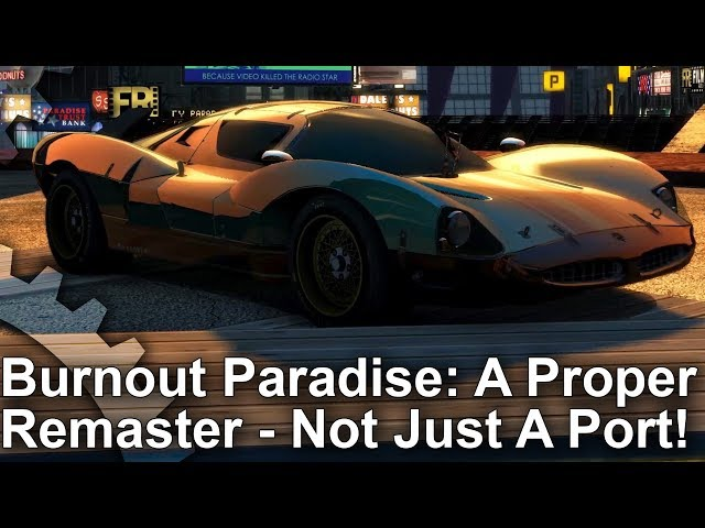 [4K] Burnout Paradise Remastered: Xbox One X/Xbox One vs Original PC - Not Just A Port!