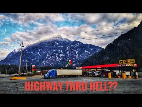My Trucking Life | HIGHWAY THRU HELL?? | #1667