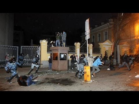 The UN and Washington condemn violence in Ukraine