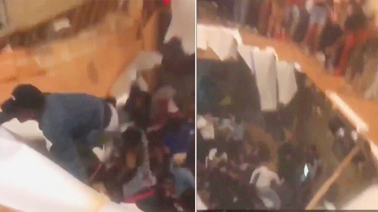 Floor Collapsed During College Party