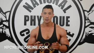 IFBB Men's Physique Pro John Nguyen Training Tip