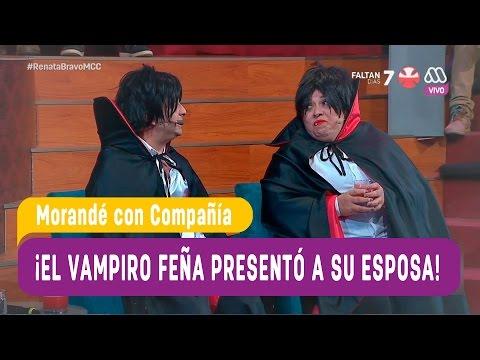 El vampiro Feña presentó a su esposa - Morandé con Compañía 2016