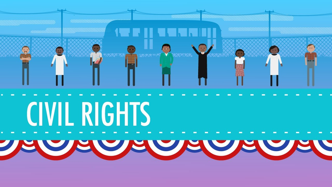 medium resolution of Civil Rights and the 1950s: Crash Course US History #39 - YouTube