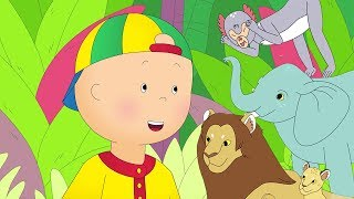 ★NEW★ 🦁 Caillou goes to the Zoo 🐒 Funny Animated Caillou | Cartoons for kids