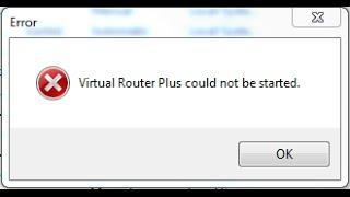 Virtual Router Plus could not be started(Virtual Router Plus could not be started - это сообщение о проблеме, которое получают пользователи программы Virtual router plus, когда..., 2015-11-23T12:13:54.000Z)