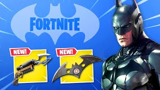 BATMAN arrives in Fortnite! (Skins, Weapons + NEW map!)