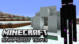 Minecraft: New Igloos, VWOOPS, and More! (Snapshot 15w43b)