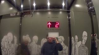 BRAND NEW Fujitec?? Traction Elevators At The Mondrian Park Avenue In NYC
