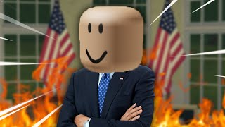 I RAN FOR ROBLOX PRESIDENT