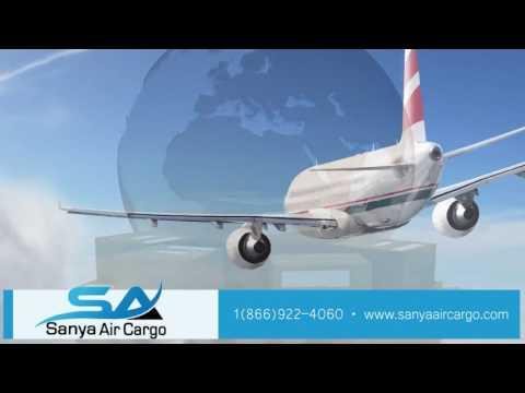 Sanya Airways - Air Freight to Belgium, Nigeria, West Africa