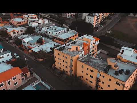 Dominican Republic Santiago  2019 Urban City 4K