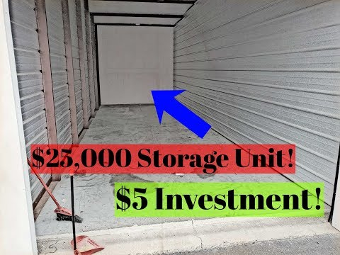 $25,000 Storage unit! Bought for $5!