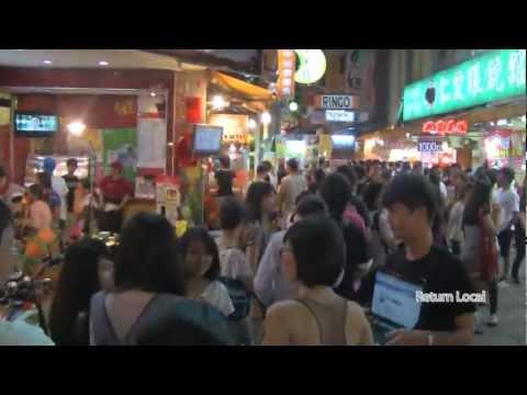 Night Market in Taichung City, Taiwan