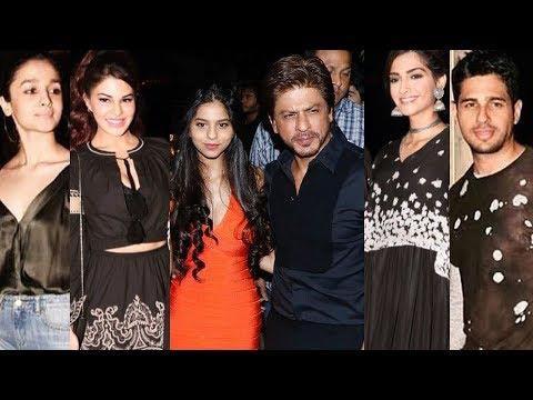 UNCUT - Gauri Khan's Restaurant Launch | Shahrukh Khan, Suhana, Sidharth, Jacqueline, Sonam