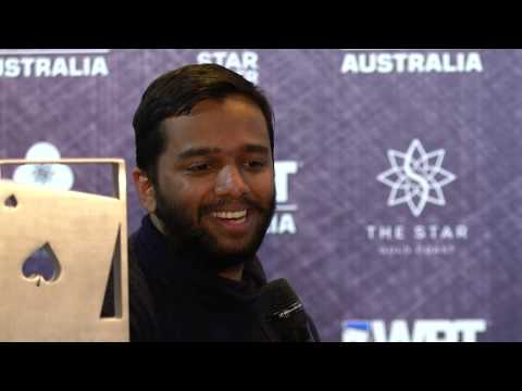 WPT Australia Champion - Hari Varma