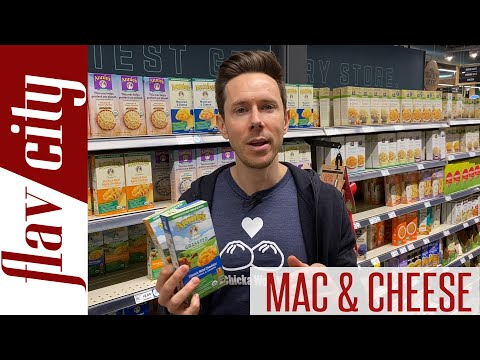 The BEST Quality Mac & Cheese At The Store...Including Gluten Free