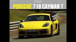 Essai Porsche 718 Cayman T (2019)