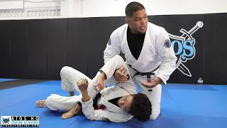 Kimura attack from side control with the option to arm bar - Andre Galvao